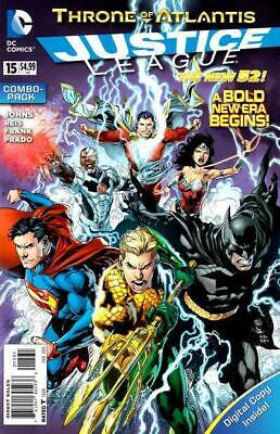 Justice League #15 (Vol 2) Combo Pack New 52