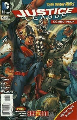 Justice League #9 Combo Pack Variant (Polybagged) New 52