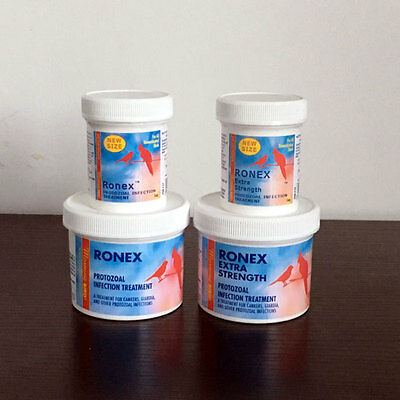Morning Bird RONEX Bird Parasite Protozoal Canker Giardia Treatment Ronidazole