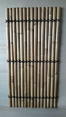 10pcs 1.8 x 1m Bamboo Hand Made Fence Screen Panel Divider Strong Natural Colour