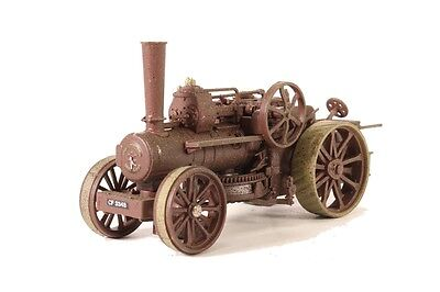 Oxford Diecast Fowler Ploughing Engine Rusty Dorset OO Scale (Suit HO also)