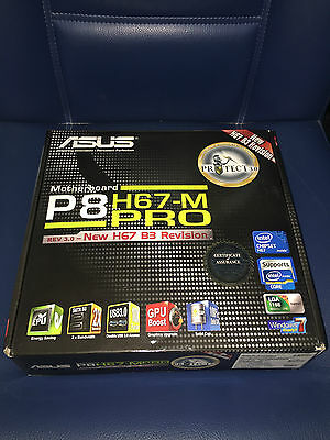 ASUS P8H67-M PRO B3 LGA1155 Socket 1155 Motherboard Placa Base Intel Chipset h67