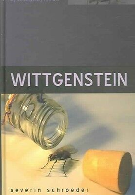 Wittgenstein: The Way Out of the Fly-Bottle by Severin Schroeder Hardcover Book