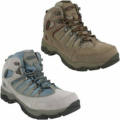 Ladies Womens Hi Tec 50 Peaks Mckinley Wp Lace Up Walking Hiking Boots Shoes