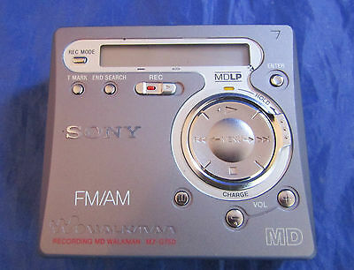 Sony MZ-G750DPC Personal MiniDisc Player Walkman