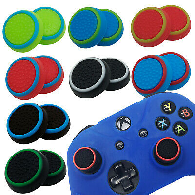 2 x ExtremeGripPro Thumb Stick Cover Grip Caps For Microsoft Xbox One Controller