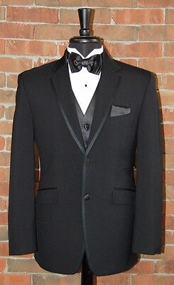 MENS 40 R SLIM FIT 2 BUTTON NOTCH TUXEDO DINNER JACKET   JOE by JOSEPH ABBOUD