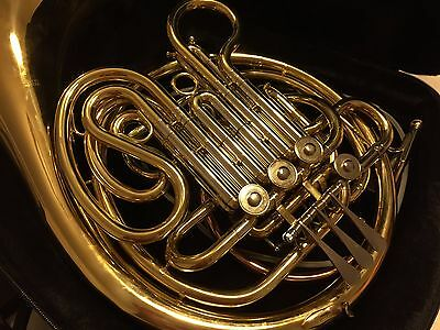 Double French Horn Professional Model BF-600 by Wisemann RRP $2,500