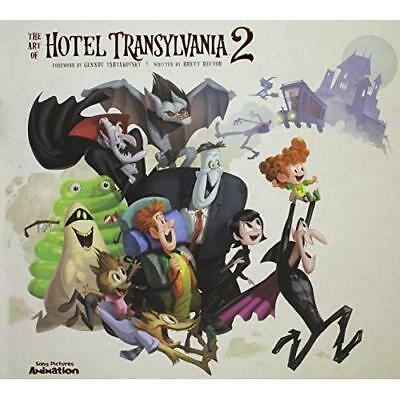 FREE 2 DAY SHIPPING: The Art of Hotel Transylvania 2 (Hardcover)