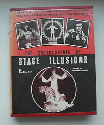 """The Encyclopedia of Stage-Illusions"" RARITY Magic Book Burling Hull Zauberbuch"