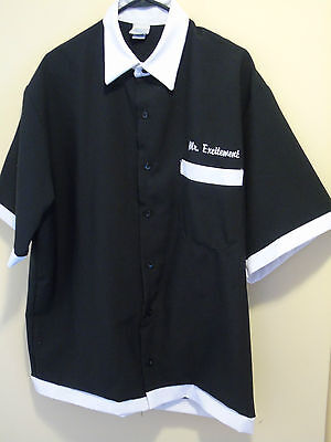 mens XL Tutti Bowling Shirt Mr Excitement