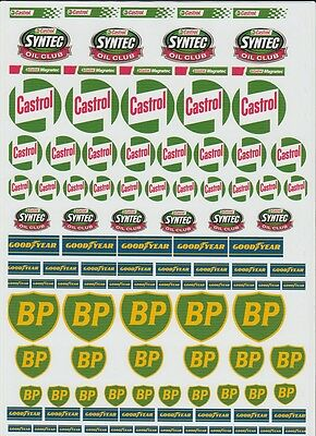 200MM X 280MM UNCUT TRANSPARENT SELF ADHESIVE DECAL 16 x 5MM to 35 x 35MM