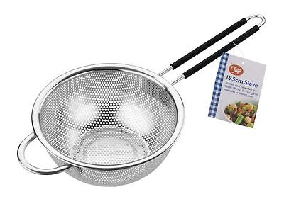 Tala Stainless Steel Strainer With Soft Grip Handle 16.6cm