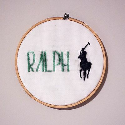 Hand stitched customizable engraving - Your Name Here