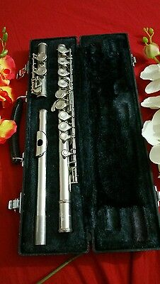 Flute Yamaha Japan 225N Ready To Play, Just Serviced, Awesome, Very Shining