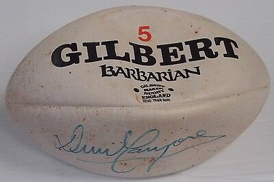 David Campese Hand Signed Gilbert 5 Rugby Ball 1996