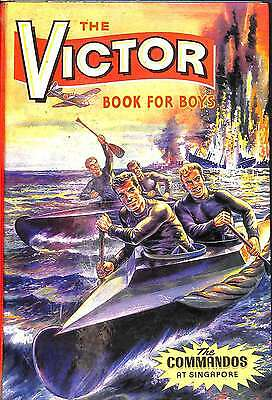 The Victor Book for Boys 1965: The Commandos at Singapore, various authors, Good