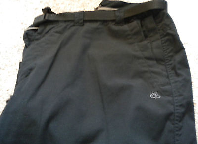 Craghoppers Kiwi Lined Trousers Black 38L