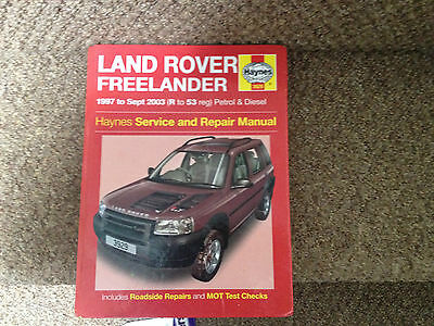 land rover freelander haynes workshop manual