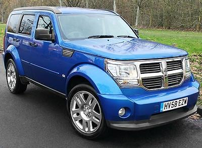 2009(58) Dodge Nitro 2.8 Crd Sxt Auto ~ Duotone Leather