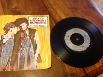 """Dexys Midnight Runners Come On Eileen 7"""" vinyl single ps"""