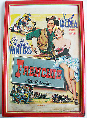 Affiche De Cinema 1950 Frenchie Joel Mc Crea Shelley Winters Movie Poster