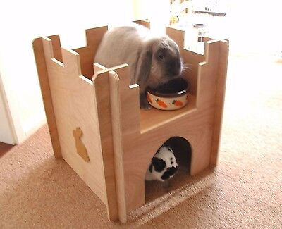 Wooden Rabbit Castle, Playground / House, Tunnel