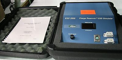 """(1) Used Compliance Design ESD 2000  Charge Reservoir Simulator 15765"