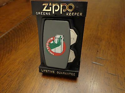 Mitsui Osk Lines Zippo Greenskeeper Mint In Box