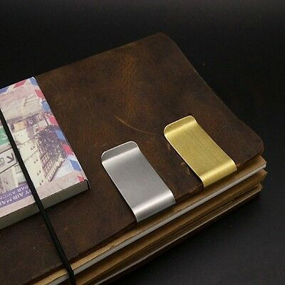 Banknote Holder 2 Colors Cash Clamp Credit Card ID Clips Wallet Money Clip