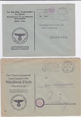 Germany Third Reich Ww Ii Cover Collection 5 Covers #2