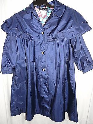 Rothschild Navy Blue Coat with bow in back sz 8