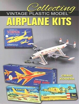 Collecting Vintage Plastic Model Airplane Kits by Craig Kodera Paperback Book (E