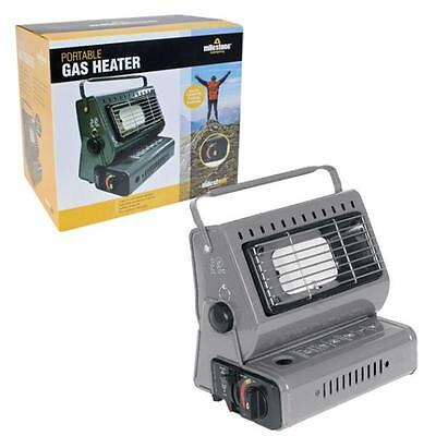 Milestone 20470 Portable Gas Heater Camping Outdoor