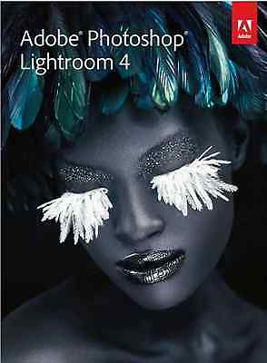 Genuine Adobe Photoshop Lightroom 4 Mac PC. Full Version No Subscription