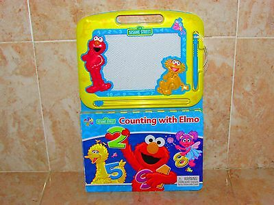 Sesame Street Counting With Elmo Drawing Storybook Toy