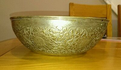 Stunning Antique Silver EPNS Bowl circa unknown. Free Delivery