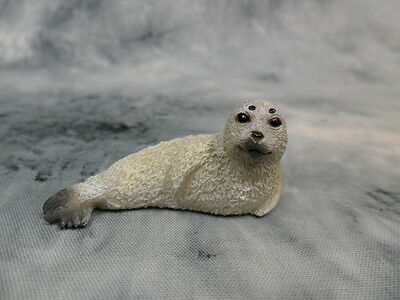 CollectA NIP * Spotted Seal Pup * #88681 Baby Realistic Model Toy Figurine