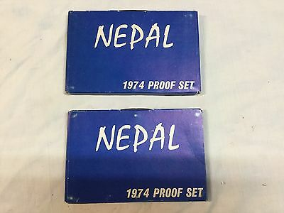 Nepal 1974 Proof Set