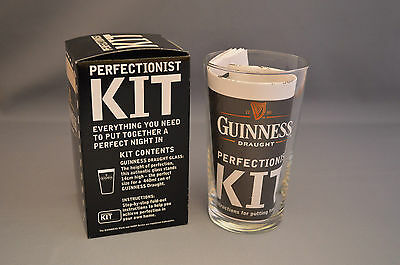 Guinness - Perfectionist Kit - Guinness Glass with Instructions