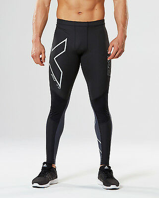 New 2XU Wind Defence Compression Tights Men Running Tight Fitness Train Race