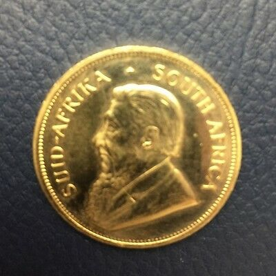 1972 Gold Krugerrand 1 oz South Africa uncirculated