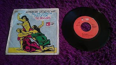 "The Beggars ‎– Somebody Stole My Wife , Vinyl, 7"", 1973 , Spain , 09-52026"
