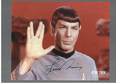 Leanord Nimoy Authentic Signed Autograph Ottawa Comiccon 2014 Star Trek Spock