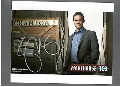 Eddie Mcclintock Authentic Signed Autograph Montreal Comiccon 2013 Warehouse 13