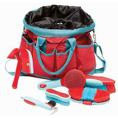 Roma Deluxe 6-Piece Grooming Bag