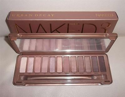 Naked 3 Professional Makeup Eye Shadow 12 Color Palette *Great Valentine Gift*