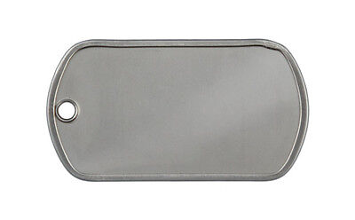 SUPPLY DEPOT MILSPEC™ G.I. Dog Tag, Dull Finish, box of 100