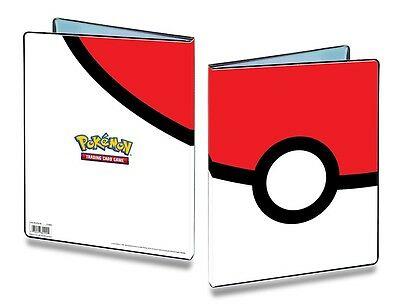UP 9-Pocket Portfolio Album Pokemon Motiv POKEBALL-OVP Mappe Ordner f.180 Karten