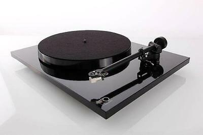 Rega P1 Planar One. Fitted With Carbon Cartridge. Gloss Black